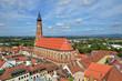 Straubing Bayern Germany Old Town