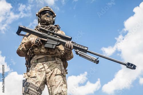 Fotomural  Army ranger sniper