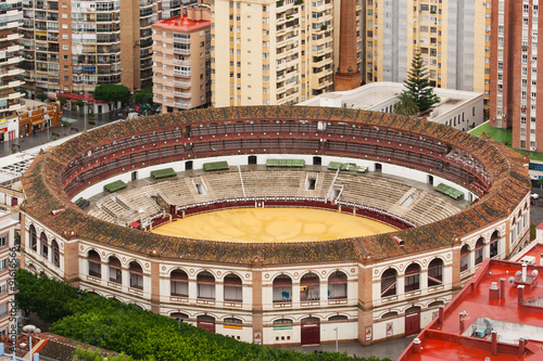 Poster Artistique Bullring at Malaga Plaza de toros de La Malagueta