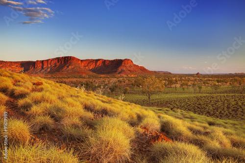 Deurstickers Honing Australian landscape in Purnululu NP, Western Australia