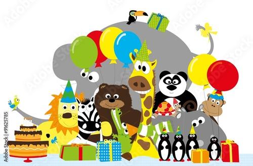 Zwierzęta z balonikami, pre...