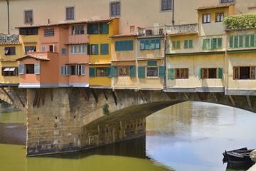 Fototapeta na wymiar Il fiume Arno a firenze