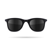 Sunglasses With Black Glasses ...