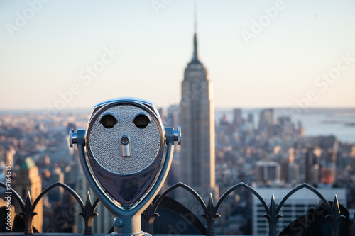 Photo  Observation Deck binoculars