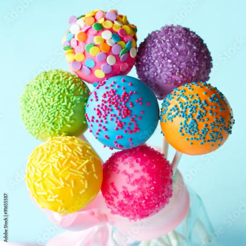 Poster Confiserie Cake pops