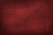 canvas print picture - high resolution red leather texture