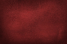 High Resolution Red Leather Te...