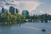 Landscape View Of Sacramento R...
