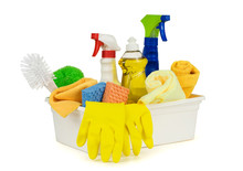 Various Household Cleaning Sup...