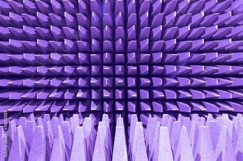 Fotografia, Obraz  Anechoic electromagnetic or sound chamber