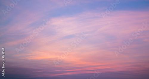 Fototapety, obrazy: Colorful Sky at Sunset