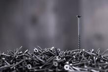 Pile Of Black Screws