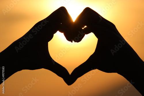 Fotografie, Obraz  Láska je vše co potřebujeme