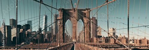 Poster Brooklyn Bridge Manhattan