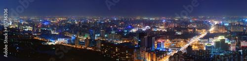 Poster de jardin Pekin Beijing at night