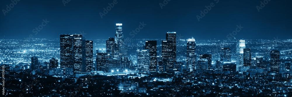 Fototapeta Los Angeles at night