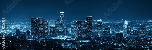 Los Angeles at night #91736536