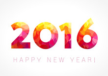 2016 New Year Color Card With ...