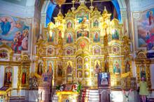 Interior Of Russian Orthodox C...