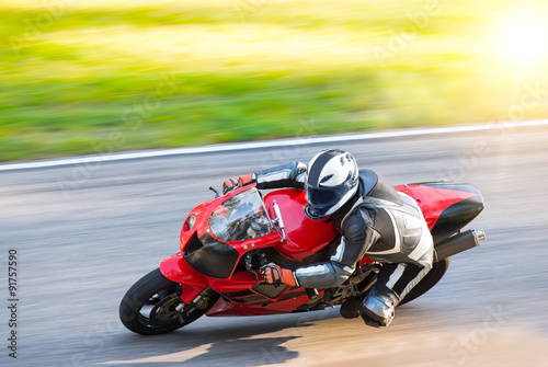 Photo Stands Motor sports Motorcycle rider