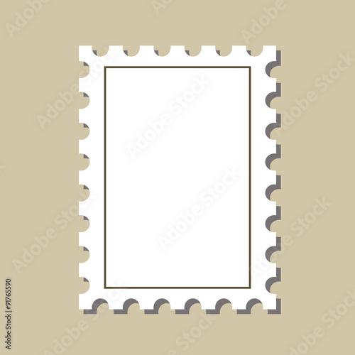 Vector Stamp Postmark Template