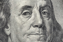 Benjamin Franklin's Face On Th...