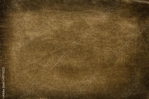 Fotografie, Obraz  Old brown cotton background