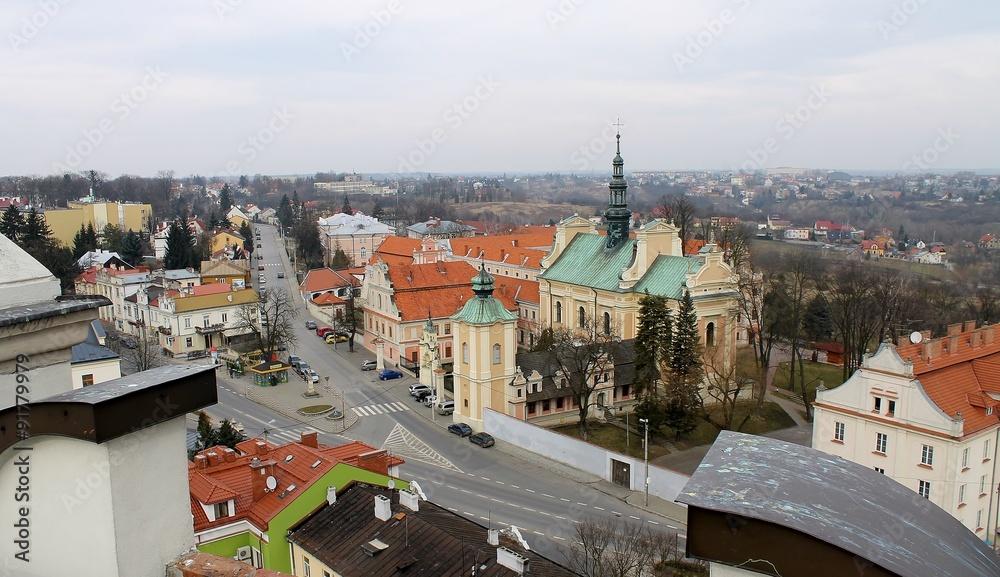 Fototapety, obrazy: Sandomierz panorama miasta