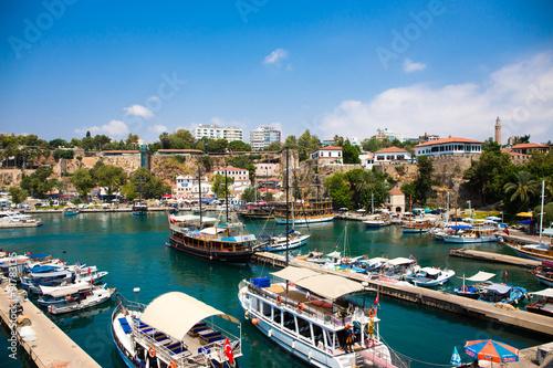 Foto op Plexiglas Cyprus Historische Altstadt Side in Türkei
