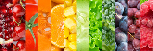 Poster Cuisine Healthy food background