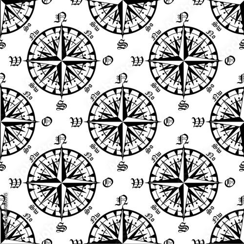 tekstura-vintage-z-kompasem
