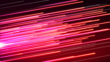 Speed Line Pink And Red