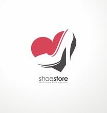 Creative Symbol Concept For Shoe Store