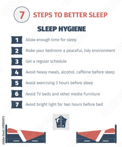 Photo  Sleep infographic