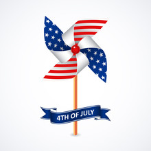 Independence Day With Pinwheel...