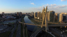 Aerial Shot Of The Ponte Estai...