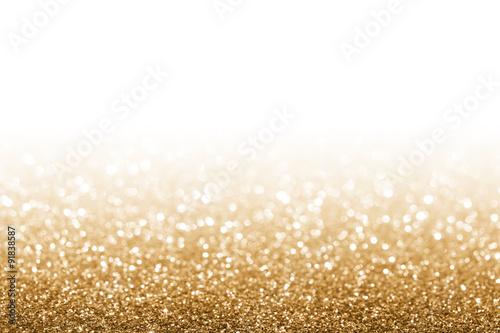 Fotografie, Obraz  Golden glitter