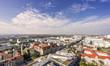 Sicht über Magdeburg