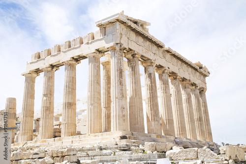 Fotobehang Athene Parthenon in Athens