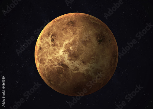 Photo Shot of Venus taken from open space. Collage images provided by