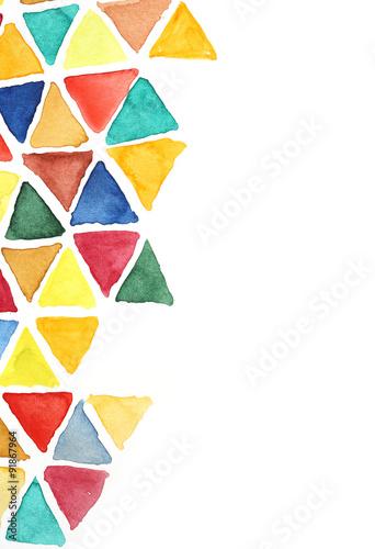 kolorowe-rysowane-trojkaty