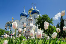 The Trinity Lavra Of St. Sergius In Sergiyev Posad (Moscow Region) - The Most Important Russian Monastery Of The Russian Orthodox Church