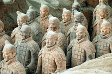 Terracotta Army Near The City ...