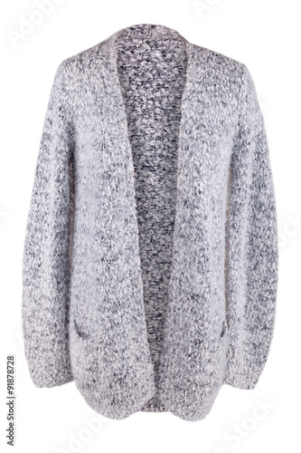 Fotografía  Warm fuzzy cardigan with pockets