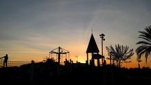 Contraluz Parque Infantil