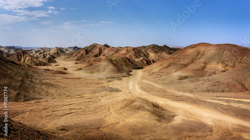 Egyptian rock desert #91887774