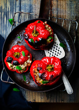 The Sweet Pepper Stuffed With ...