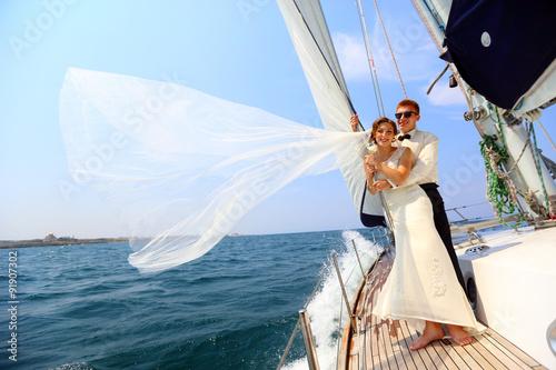 Fotografia  honeymoon sailing