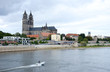 Magdeburg Elbblick Dom Panorama