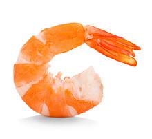 Tiger Shrimp. Prawn Isolated O...